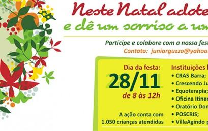 """Campanha """"Natal Solidário"""""""