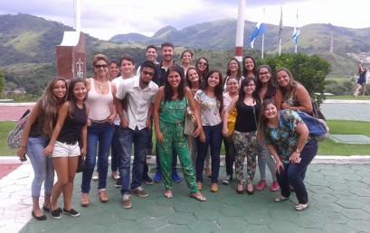 Visita técnica ao centro de treinamento do Fluminense