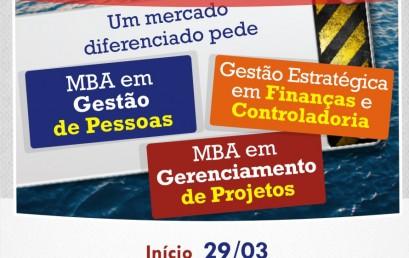 Pós-graduação emGestão Estratégica em Finanças e Controladoria