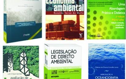 Biblioteca: novos livros de Engenharia Ambiental