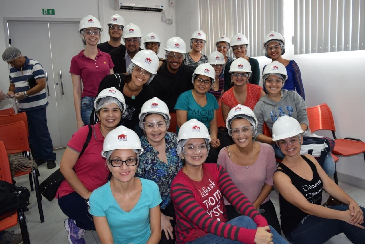 FSMA:alunos fazem visita técnica à ETE