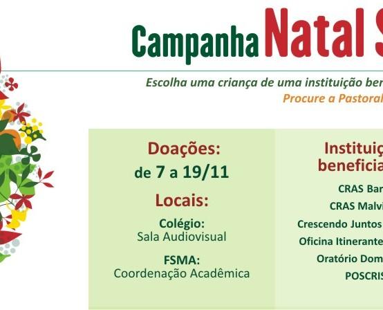 INSG/Castelo e Faculdade Salesiana iniciam campanha de Natal