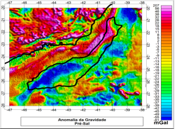 Estudo Geopotencial Gravitacional da Região do Pré-Sal