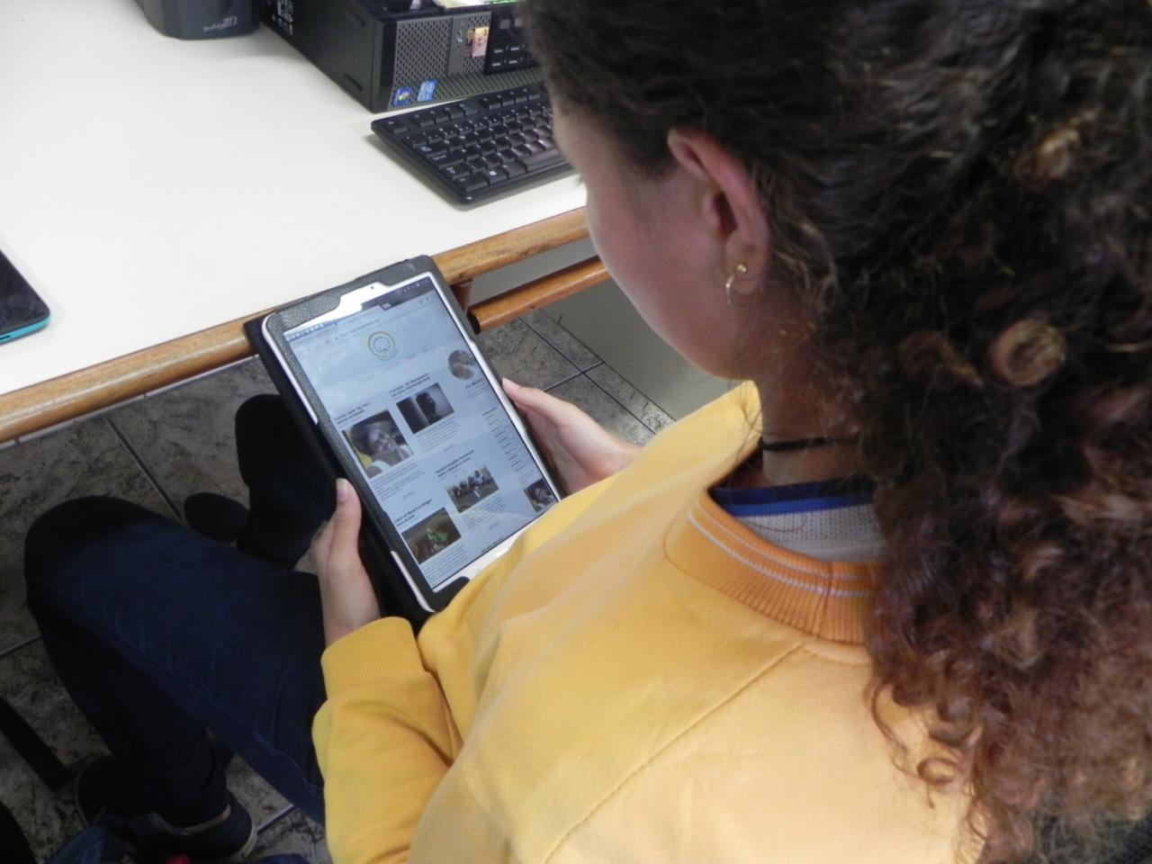 Alunas de Comunicação da FSMA se encantam pelo universo dos blogs