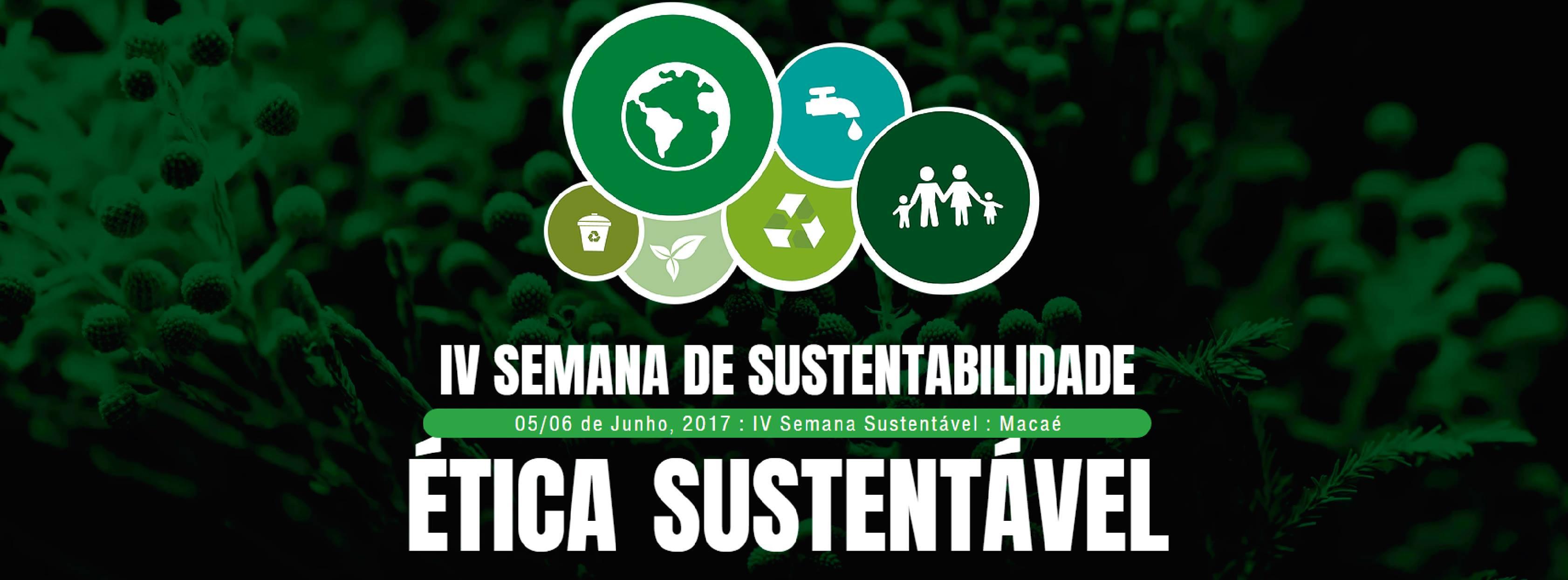 IV Seminário de Gestão Sustentável acontece nos dias 05 e 06 de junho