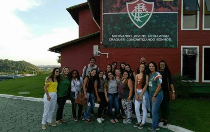 Estudantes de Psicologia visitam Centro de Treinamento do Fluminense