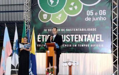Palestras sobre Ética Sustentável abrem IV Seminário de Gestão da FSMA