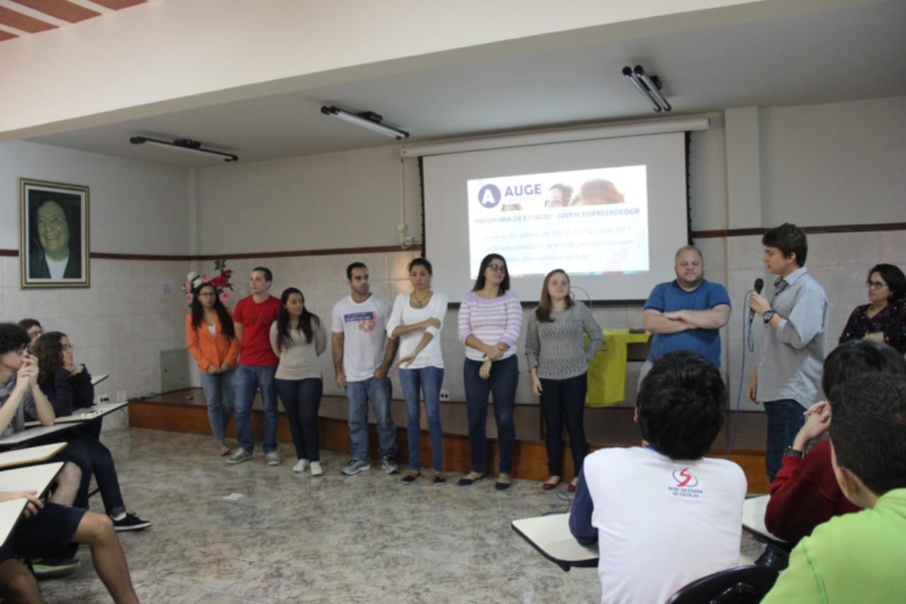 FSMA: AUGE promove estágio para alunos do Ensino Médio do Castelo