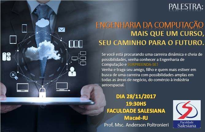 FSMA promove palestra sobre a profissão de Engenheiro da Computação