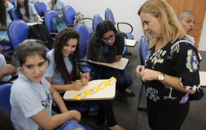 Programa Nova Vida: jovens recebem palestra da FSMA