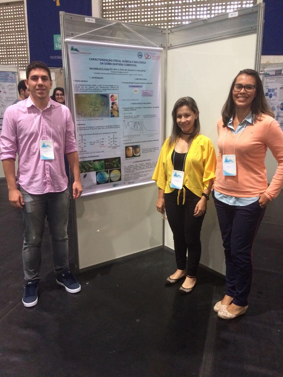 Trabalhos da FSMA são apresentados no Encontro Regional de Química
