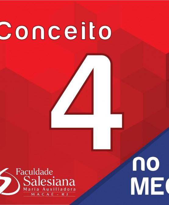Faculdade Salesiana recebe nota 4 do MEC