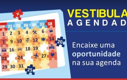 Vestibular Agendado com inscrições abertas