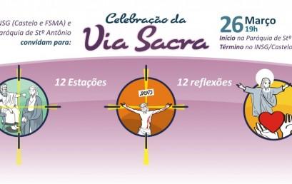 Via Sacra será no dia 26 de março
