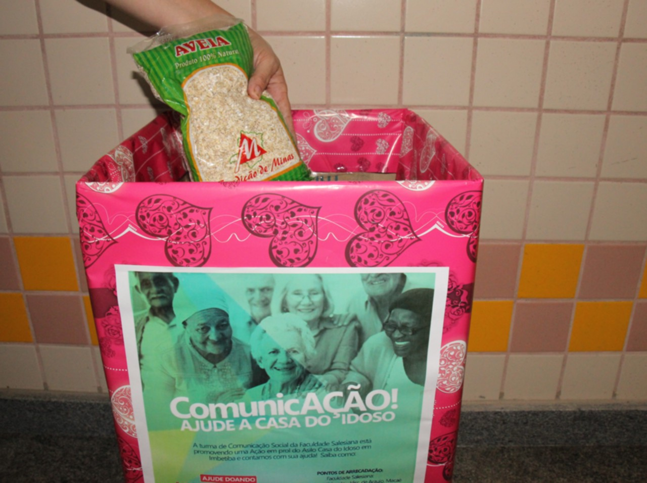 Curso de Comunicação promove ação social para Casa do Idoso