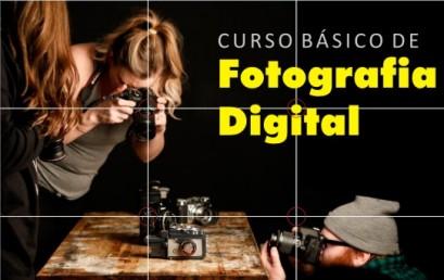 Inscrições abertas para Curso de Fotografia Digital