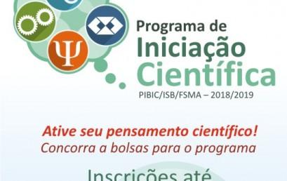 Programa de Iniciação Científica com inscrições abertas na FSMA
