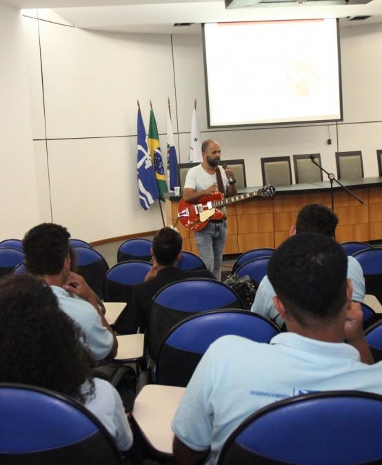 Programa Nova Vida: Música é tema de capacitação realizada pela FSMA