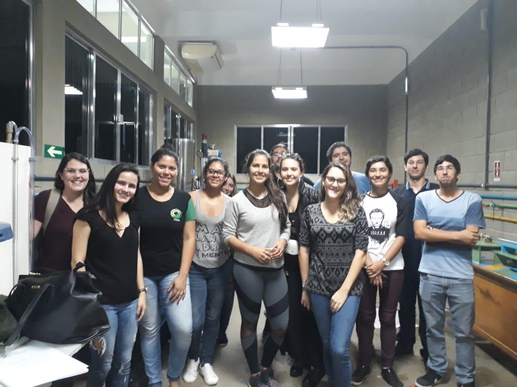 Universitários de Engenharia da FSMA dispõem de prática em laboratório