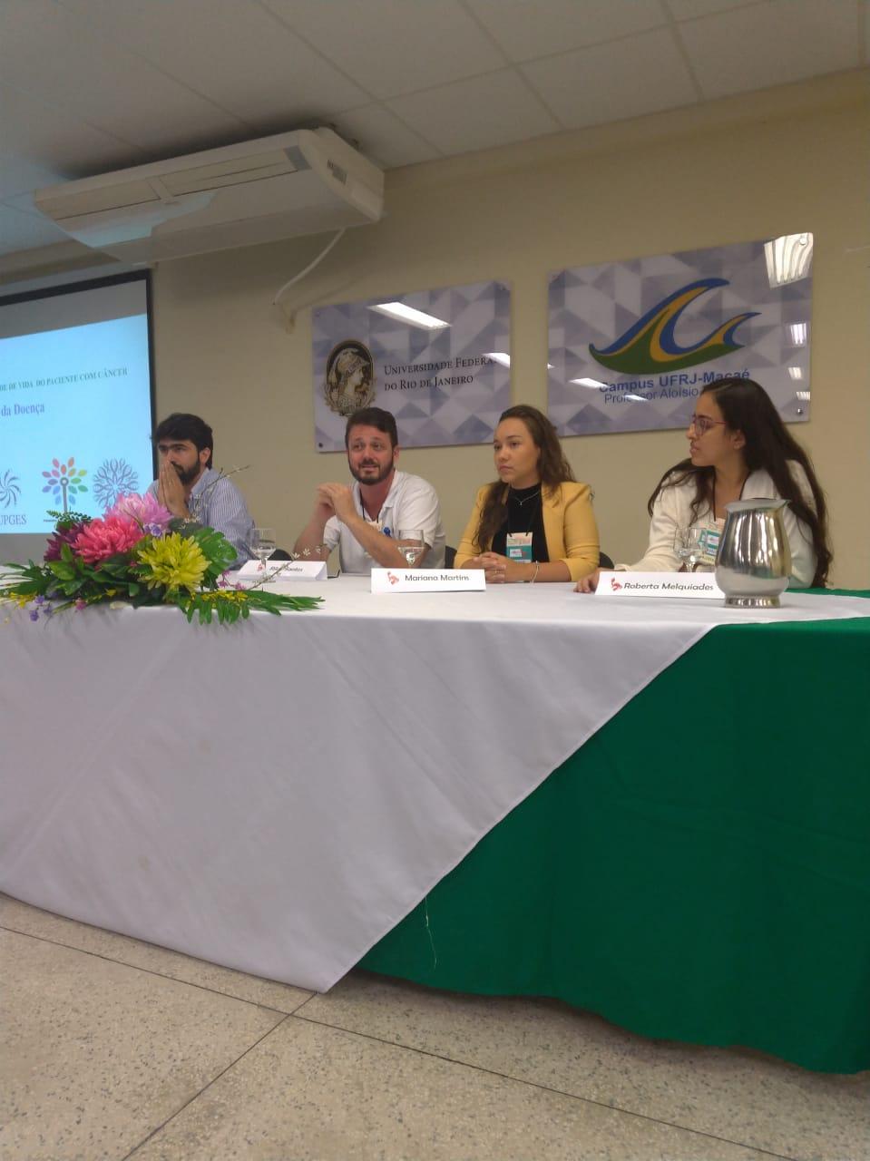 FSMA: professor participa de debate sobre qualidade de vida de pessoas com câncer