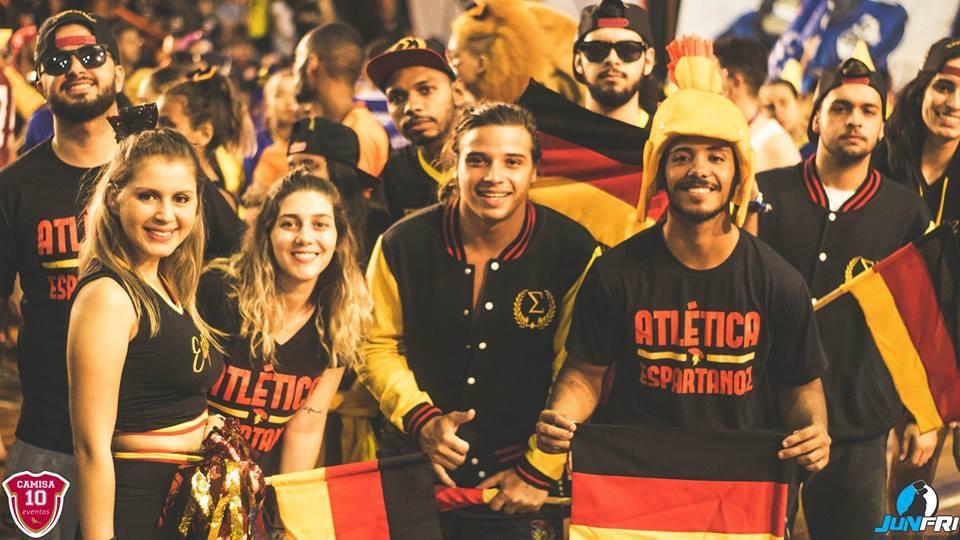 Atlética Espartanoz disputa o JUNFRI 2018