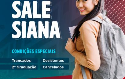 Salesiana oferece condições especiais para ex-alunos e 2ª graduação