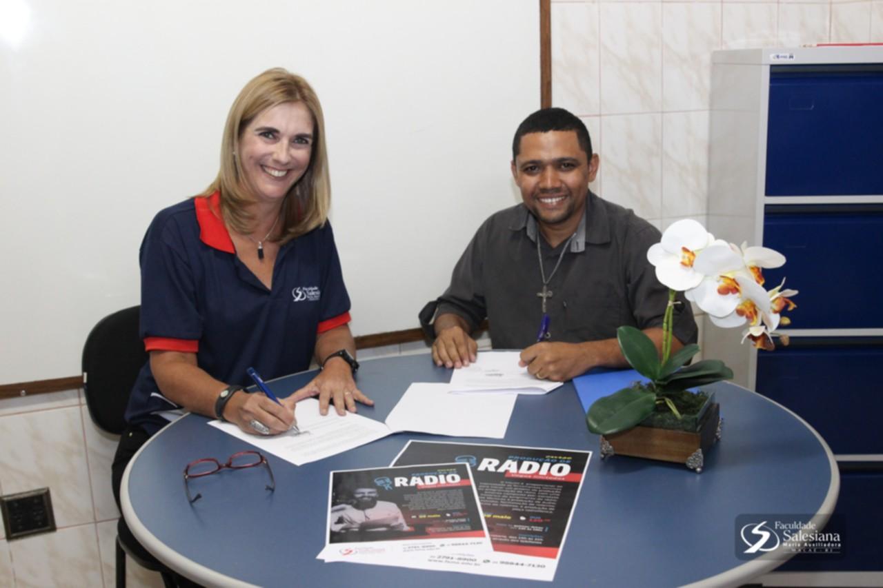 FSMA firma parceria com a Escola Municipal Ancyra Pimentel