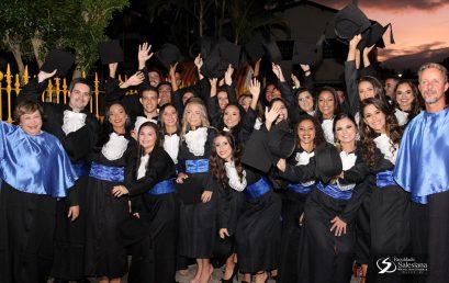 Faculdade Salesiana forma 77 novos profissionais