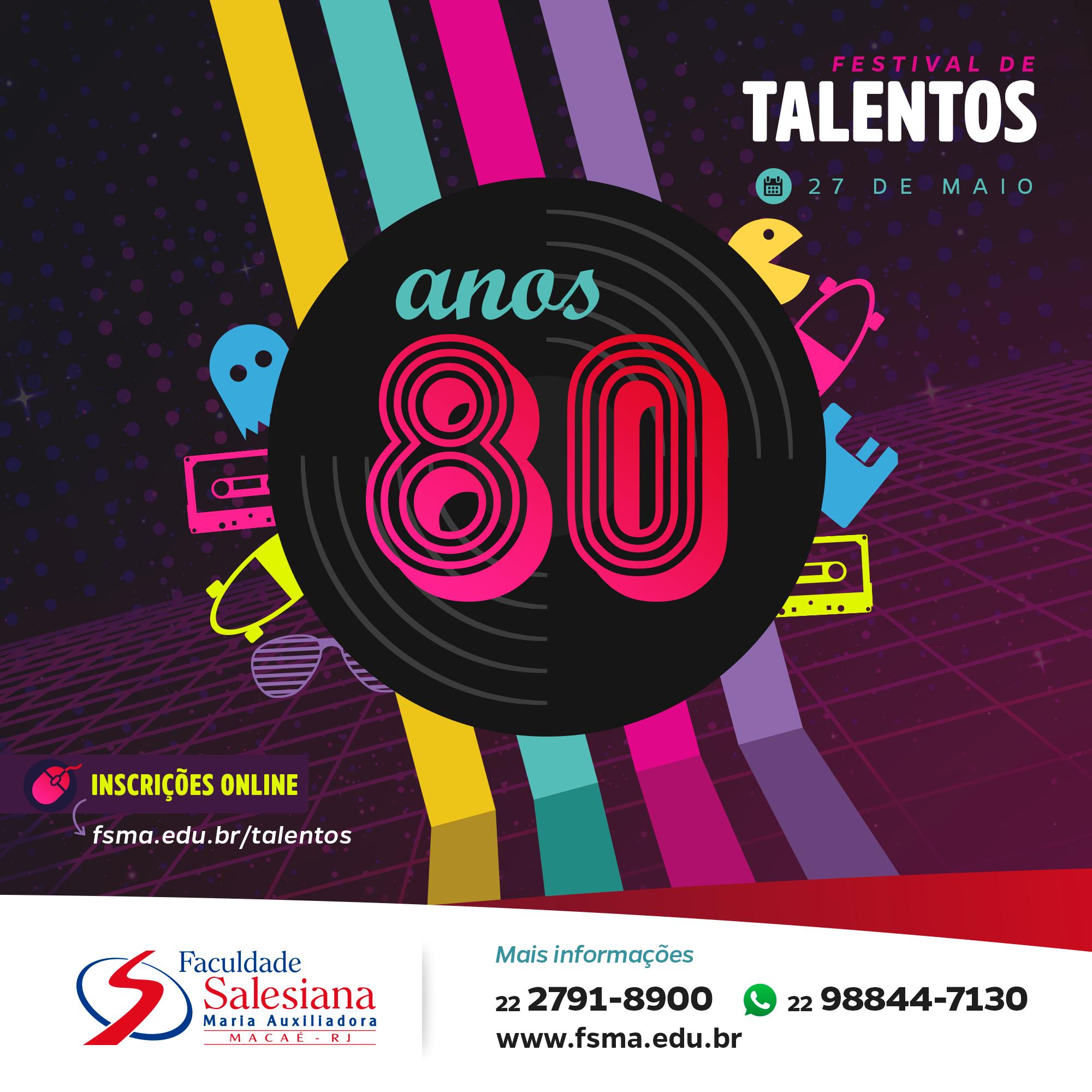 Inscrições para o Festival de Talentos seguem até o dia 18