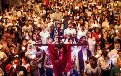 Via Sacra relembrará paixão, morte e ressurreição de Cristo