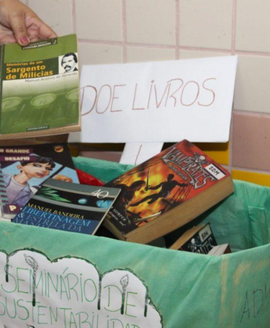 Salesiana: Campanha de doação de livros visa criar biblioteca em Itacaré