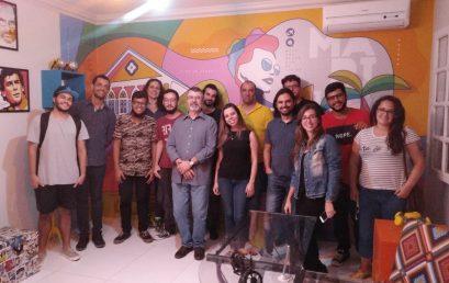 Universitários visitam Agência de Publicidade Marinho