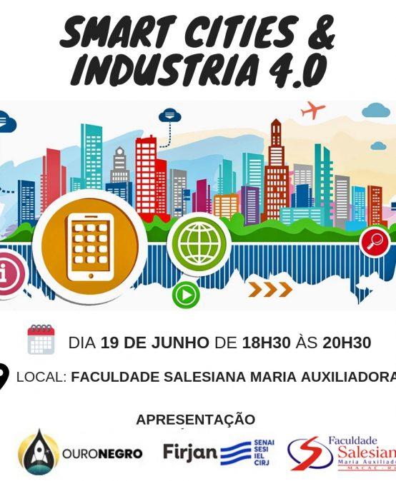 "A Faculdade Salesiana irá sediar o ""Smart Cities e Industria 4.0"""