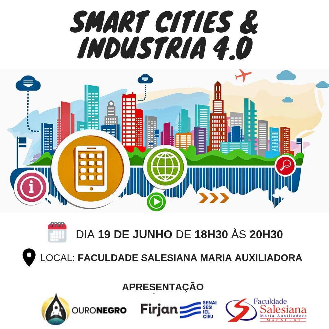 "A Faculdade Salesiana irá sediar o ""Smart Cities e Industria 4.0"""