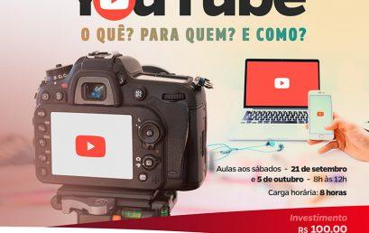 YouTube é o novo curso de extensão da Salesiana