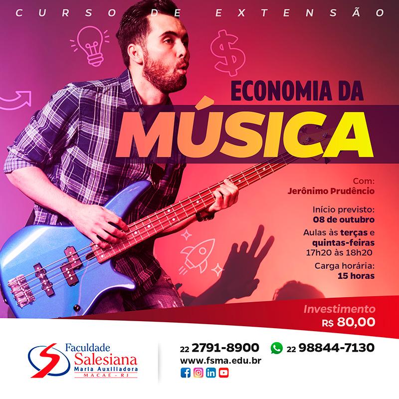 Mercado da Música é o novo curso da Salesiana