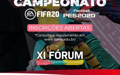 Campeonato FIFA 20 no XI Fórum Científico da Salesiana