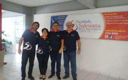 Salesiana realiza palestras sobre mercado de trabalho em Feira de Oportunidades
