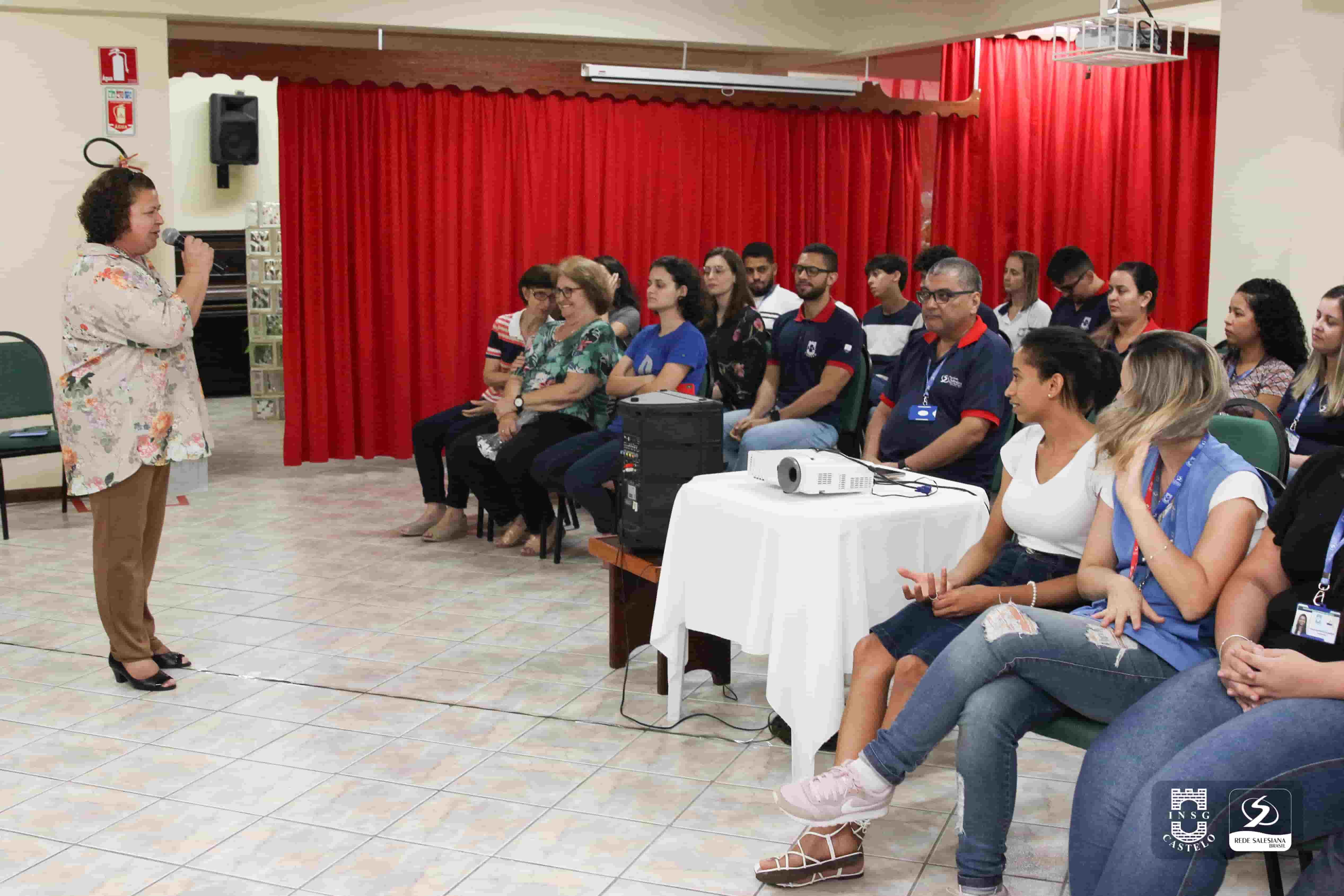 Faculdade Católica e INSG/Castelo: colaboradores participam de Celebração de Natal