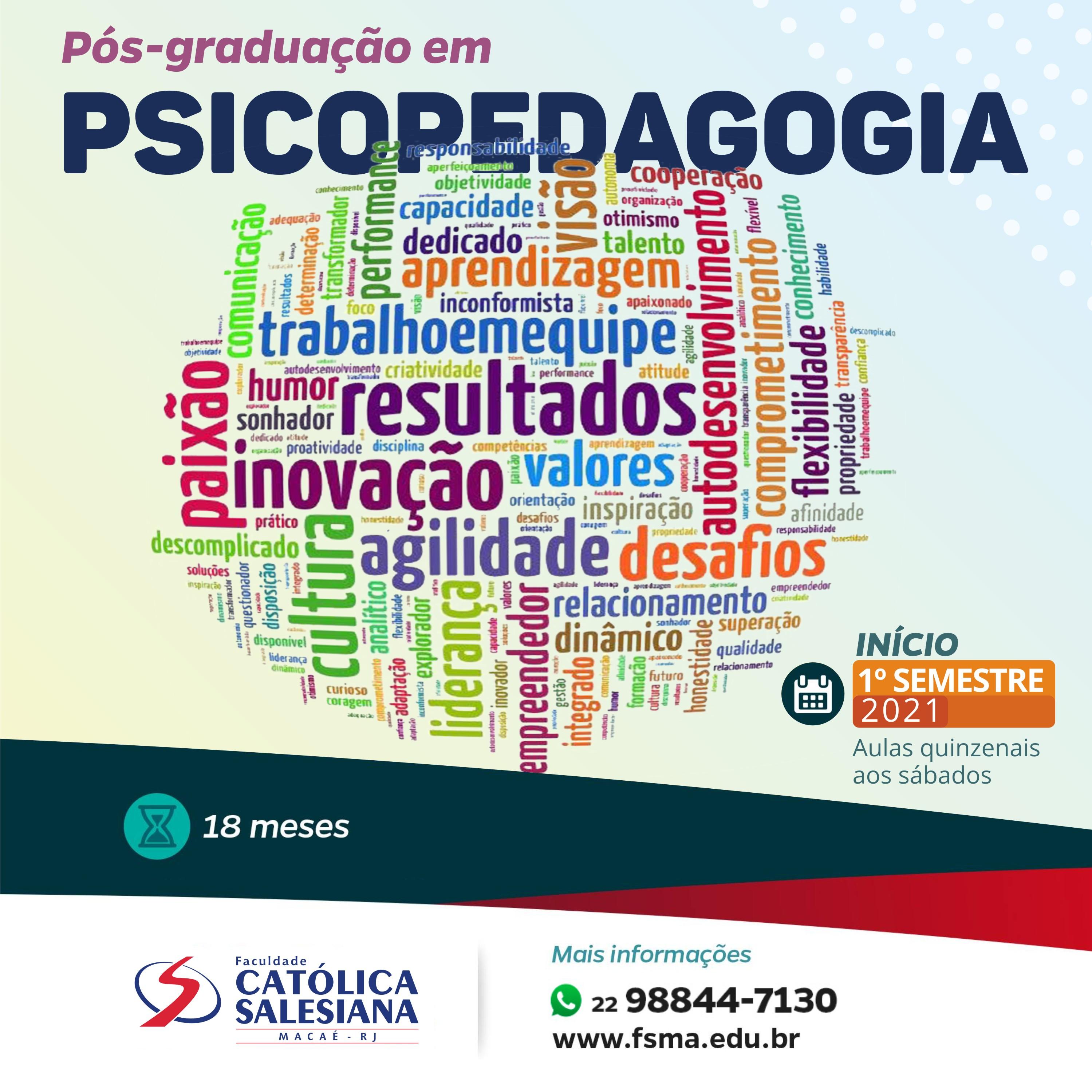 Psicopedagogia é o novo curso de pós-graduação da Católica Salesiana
