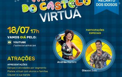 Católica Salesiana e Colégio Castelo realizam live beneficente com artistas locais