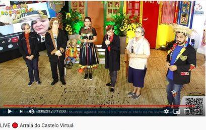 Arraiá do Castelo Virtuá dá um show em solidariedade