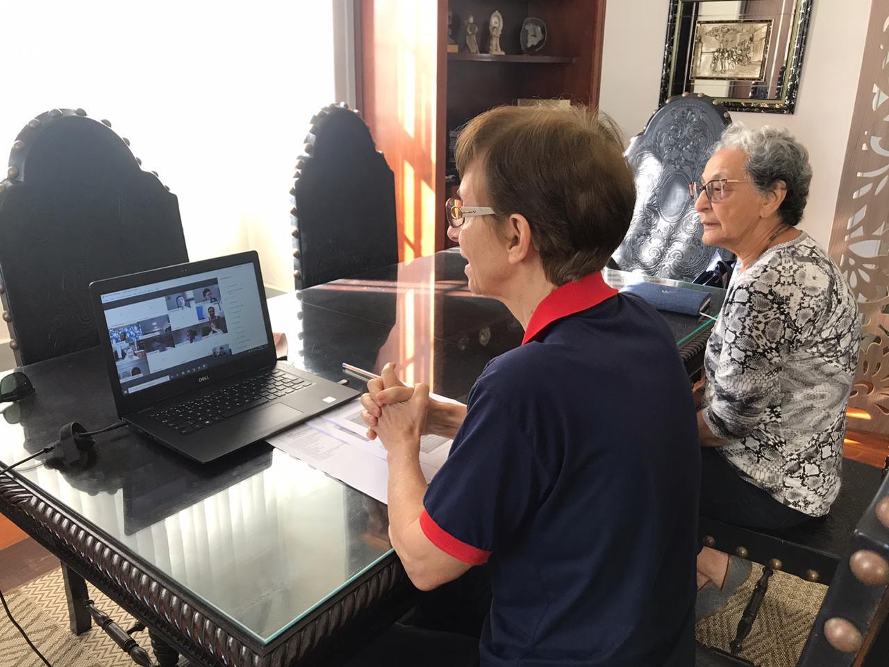 Católica Salesiana no Encontro Mundial online das Filhas de Maria Auxiliadora