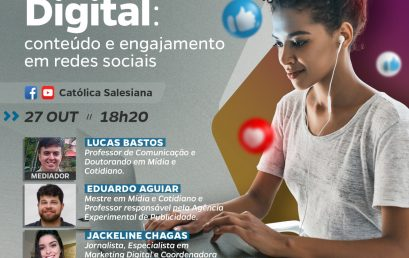 Católica Salesiana vai realizar Live sobre Marketing Digital