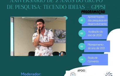 Encontro Online encerra as atividades de 2020 do Tecendo Ideias