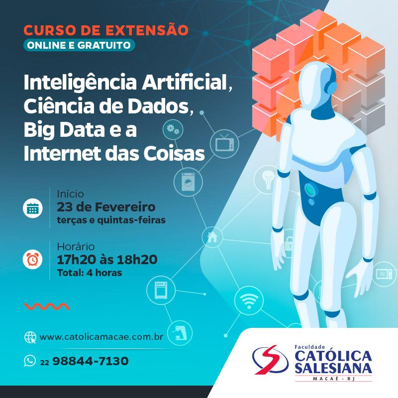 Curso Online de Verão na área de Tecnologia da Informação será gratuito na Católica Salesiana