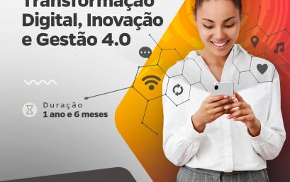 Católica Salesiana lança pós-graduação em Transformação Digital, Inovação e Gestão 4.0