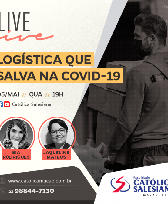 Encontro virtual: Católica Salesiana aborda logística na pandemia
